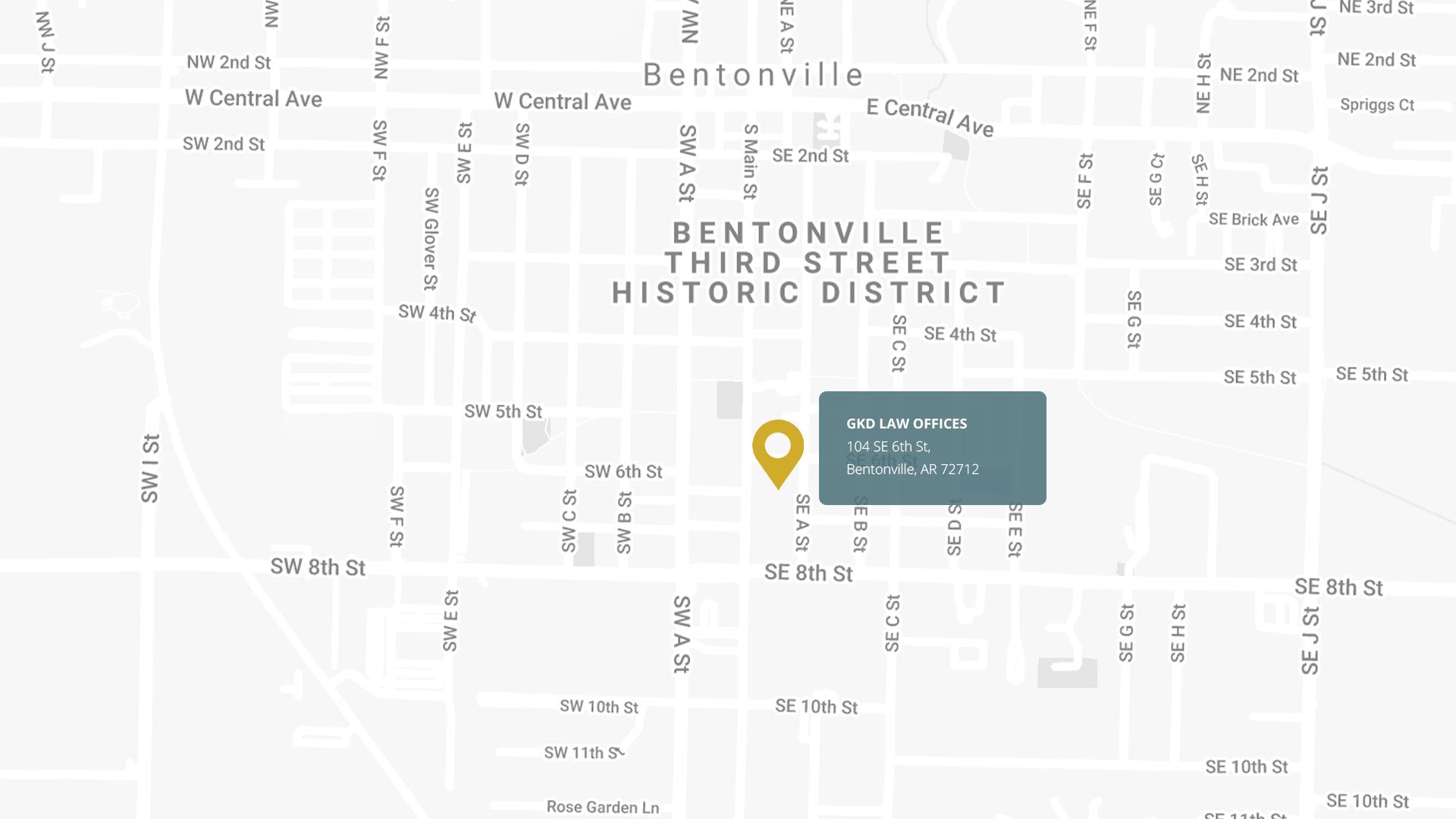Bentonville personal injury lawyer